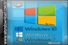 Windows AIO 7, 8.1 E 10 32/64  PT-BR